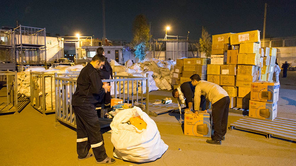 Transferring 150 Tons of Essential Commodities to the Earthquake Stricken Is in the Pipeline