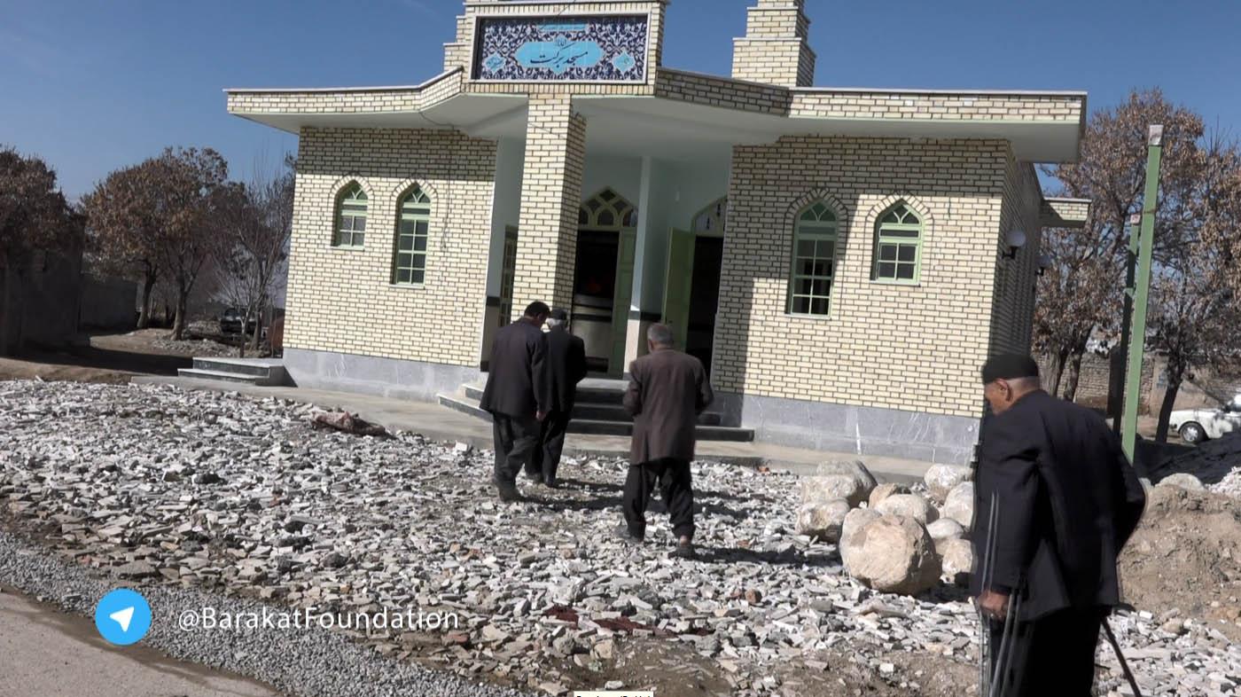 مسجد برکت روستای اکبرآباد (کلیپ)