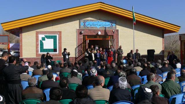 مدرسهی برکت روستای باغلوجه سقز کردستان افتتاح شد